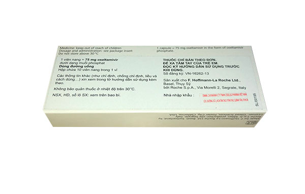 thuốc Tamiflu 75mg