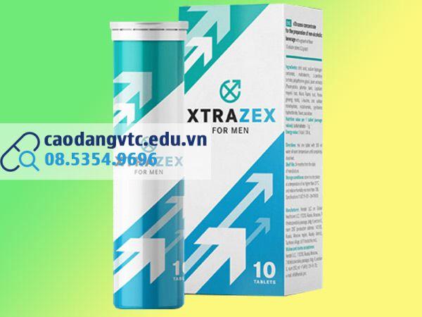 Viên sủi Xtrazex giúp tăng cường sinh lý phái mạnh