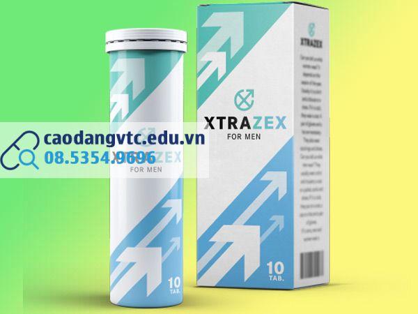 Hình ảnh hộp và lọ viên sủi Xtrazex