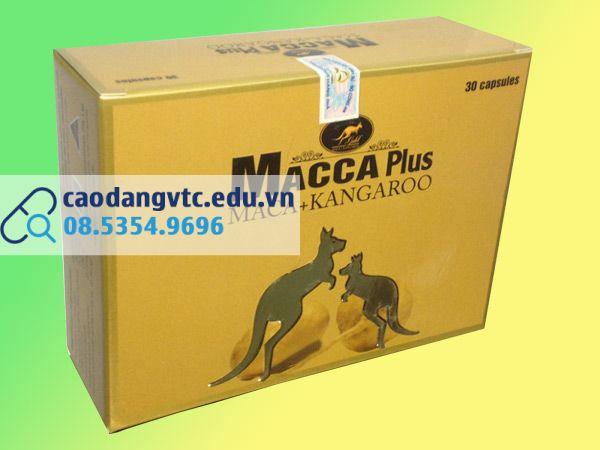 Macca Plus có dán tem chống giả của Bộ Y tế