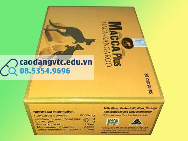 Macca Plus - giải pháp hiệu quả cho nam giới yếu sinh lý