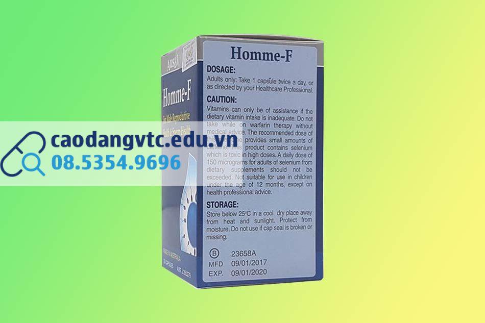 Hình ảnh hộp Homme F
