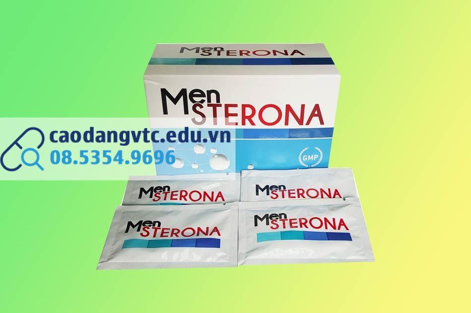 Mensterona - hỗ trợ tăng cường sản sinh tinh trùng