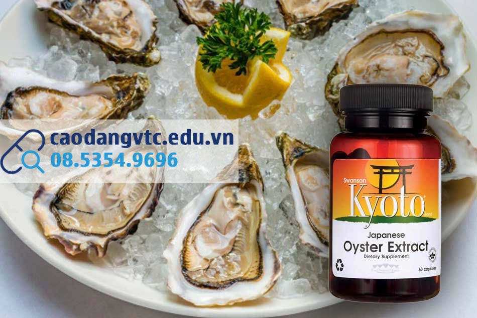 Oyster Extract Swanson xuất xứ từ Nhật