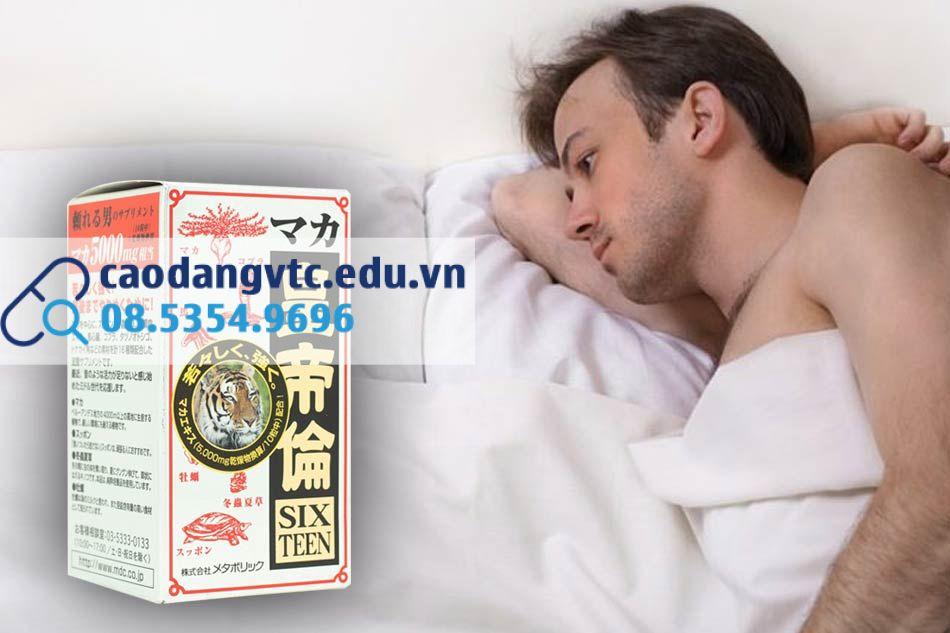 Viên uống Maka Sixteen - cải thiện tình trạng yếu sinh lý cho nam giới